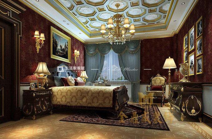 别墅软装设计案例卧室