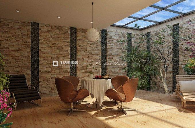 别墅软装设计案例休闲室