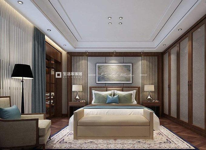 新中式别墅软装设计