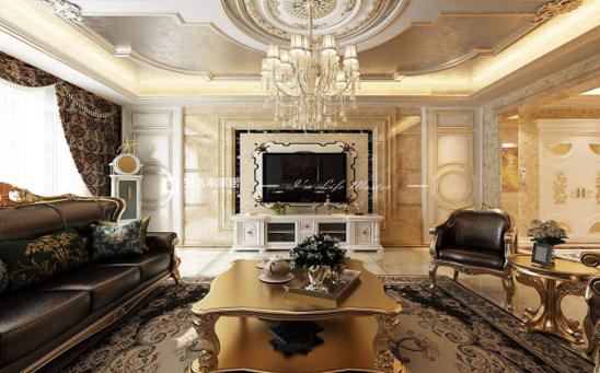 歐式客廳裝修效果圖
