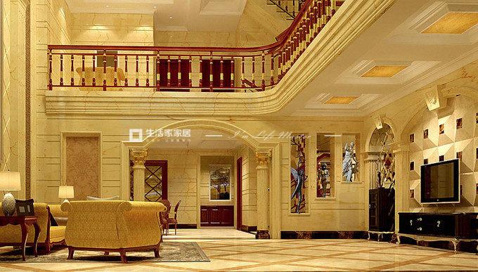 欧式别墅装潢