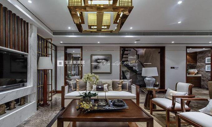 新中式别墅软装