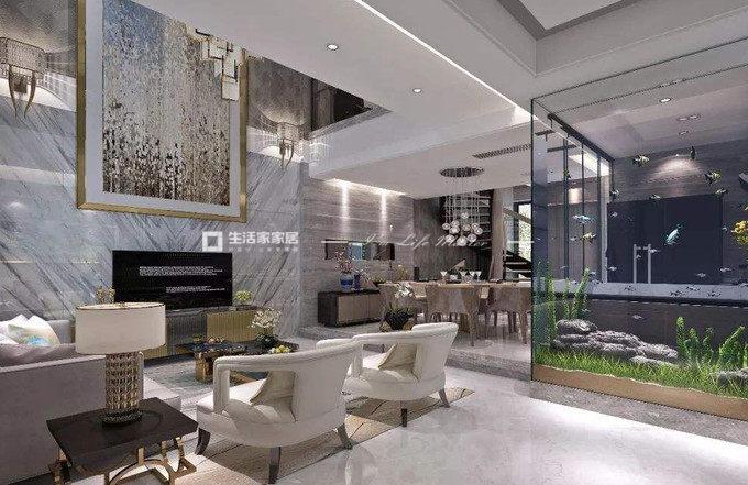 新中式別墅軟裝設計