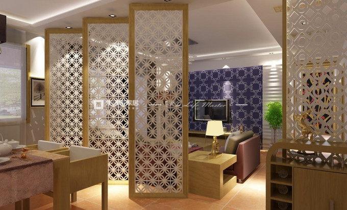 客厅隔断装潢怎么设计