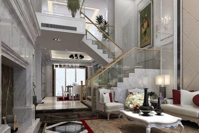 40平米復式公寓裝修效果圖