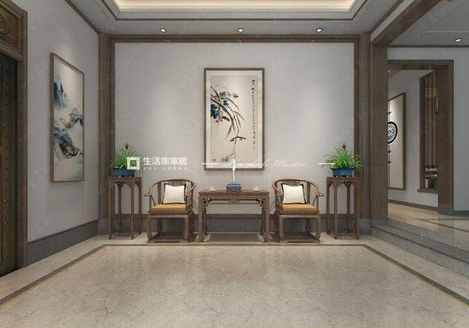 中式中堂装修效果图