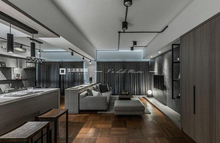 现在流行广东11选5走势图风格客厅