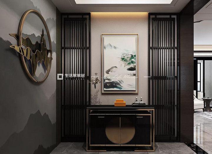 中式装饰设计中软木地板