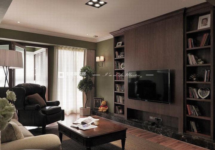 室內電視背景墻裝修