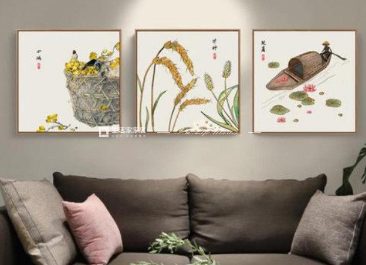 日式挂画图片
