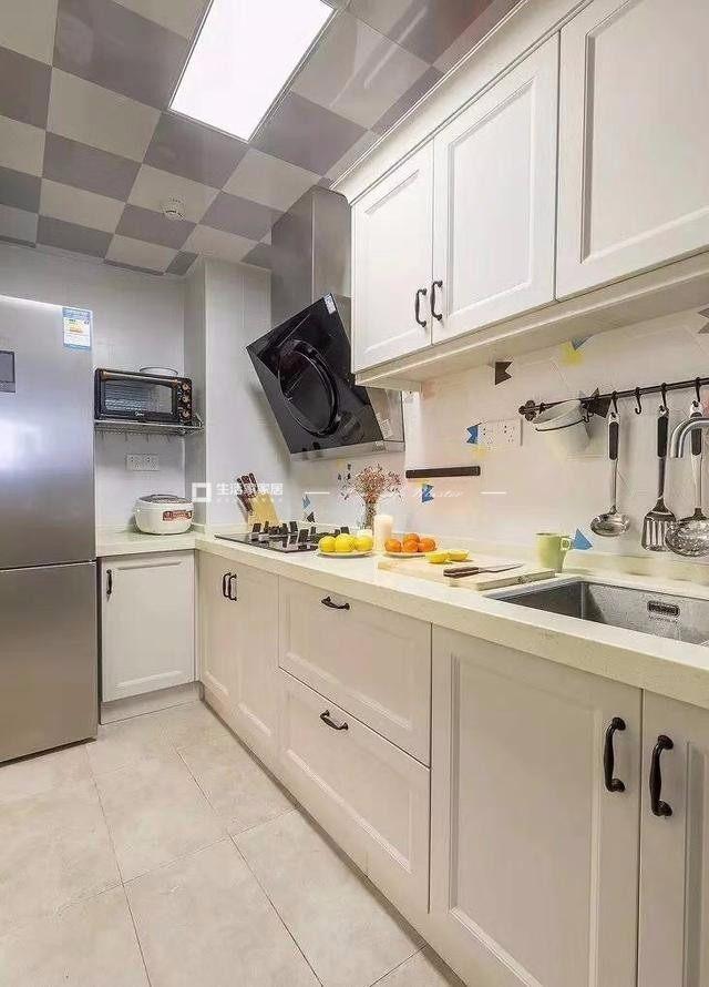 簡歐廚房裝修效果圖