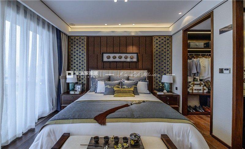 新中式臥室裝修效果圖