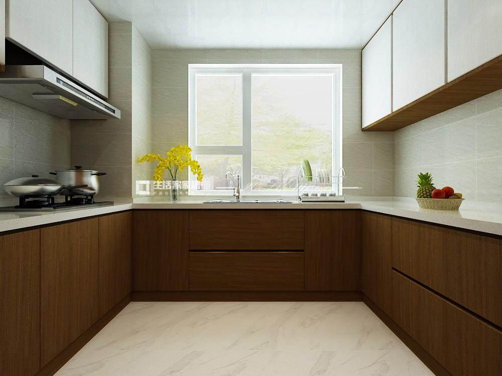 新中式廚房裝修效果圖