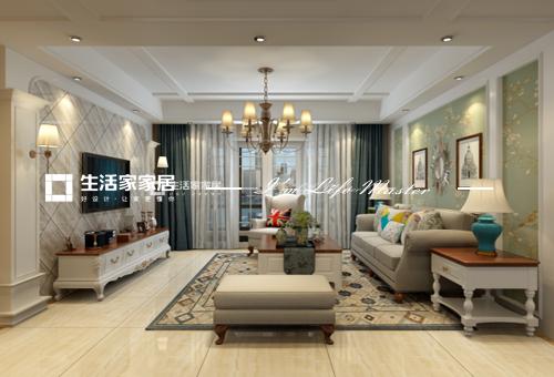 美式客廳裝修效果圖