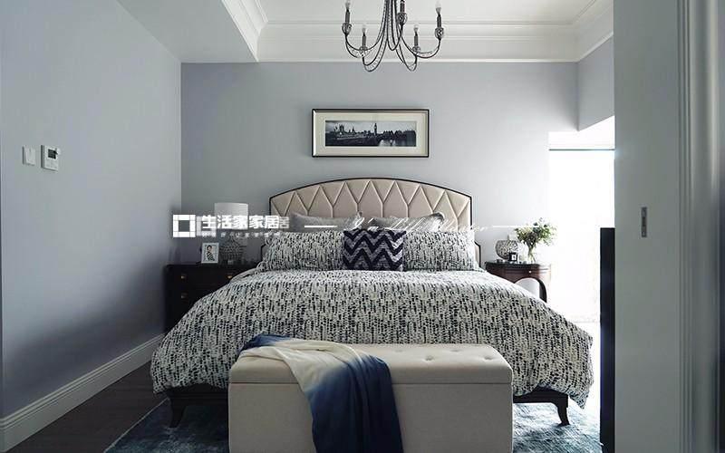 美式臥室裝修效果圖