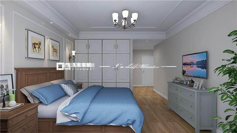 简美卧室装修效果图