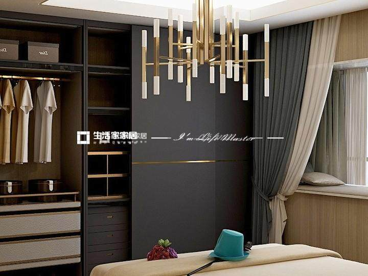 轻奢卧室装修效果图