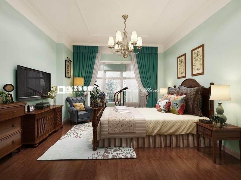 田园卧室装修效果图