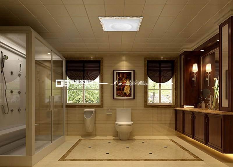 美式衛生間裝修效果圖