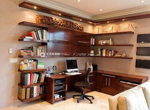 书房设计的4大要素