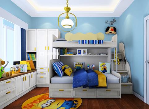 儿童卧室装潢图片,儿童房装修
