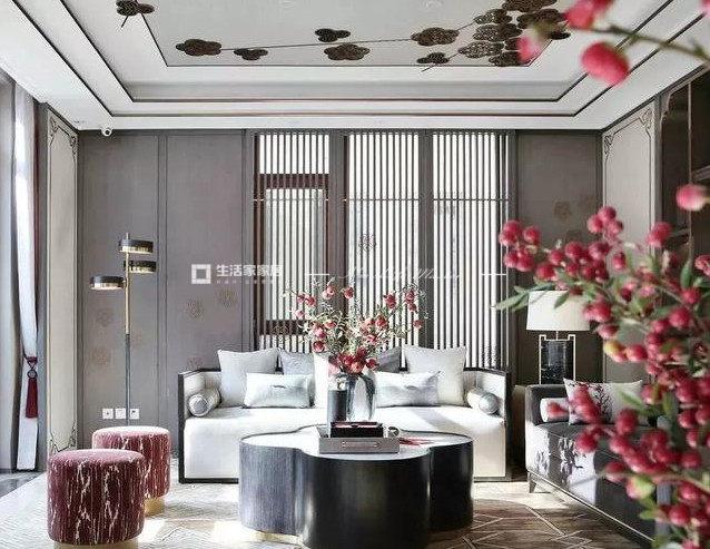 新中式客廳裝修