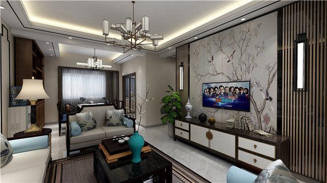 昆明裝修公司水岸青城 101㎡新中式戶型解析