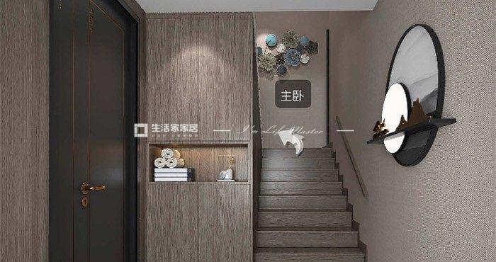 新中式过道装修效果图