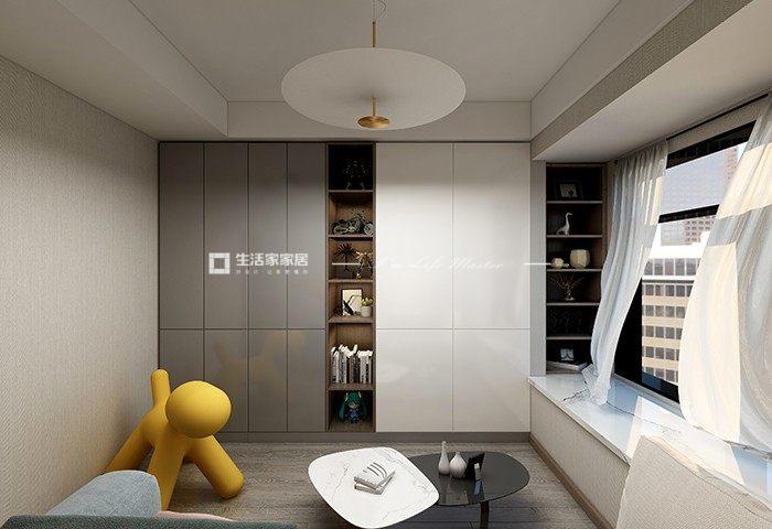 现代书房装修效果图