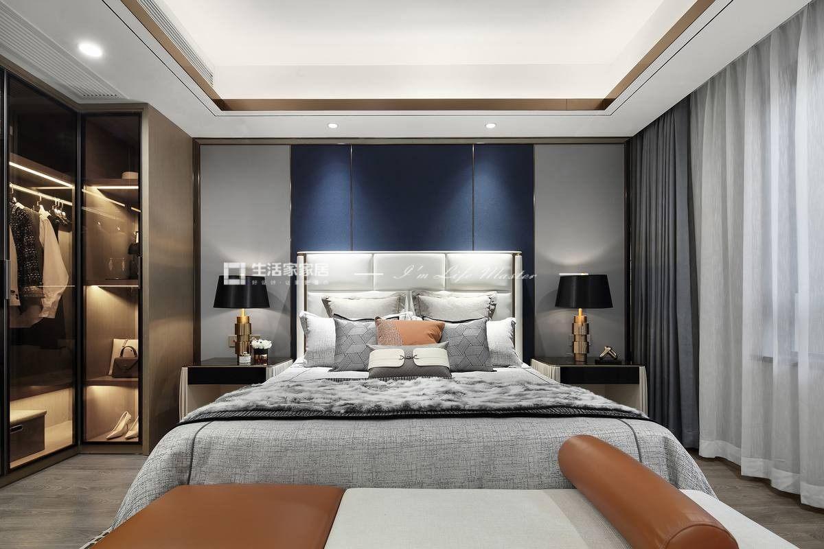 港式卧室装修效果图