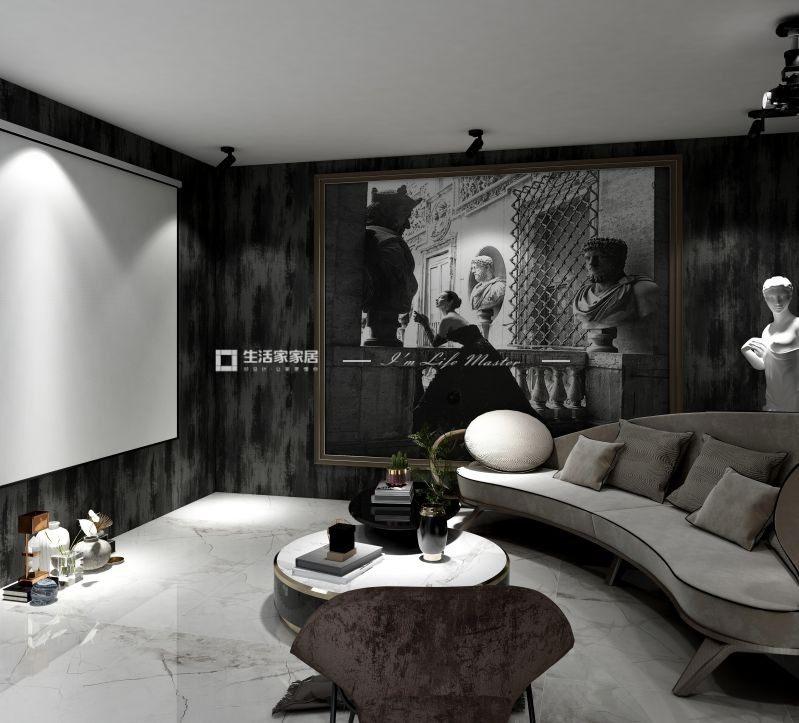 轻奢客厅装修效果图
