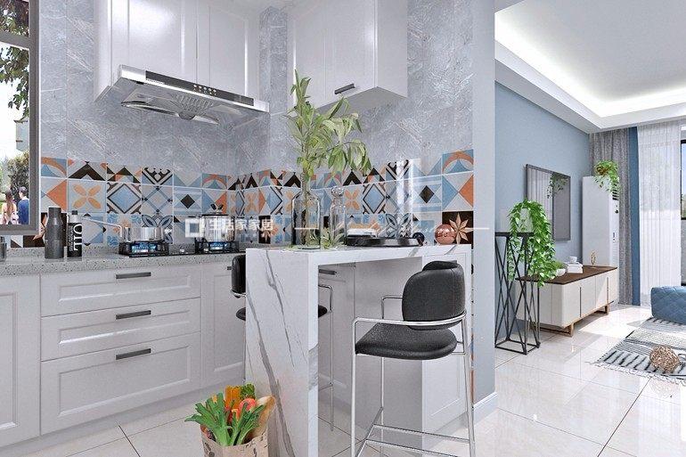 現代廚房裝修效果圖
