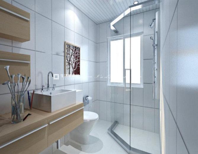 厕所装修如何将小空间实现干湿分区呢?