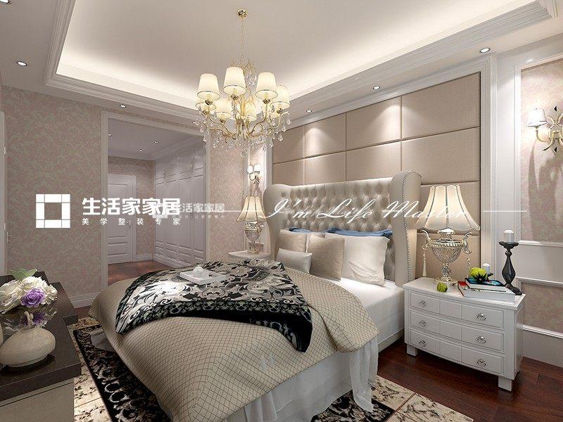 中式次卧装修效果图