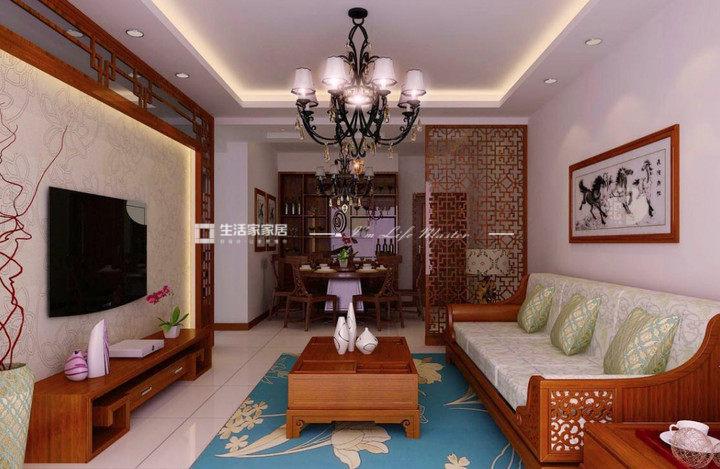 中式风格客厅给你带来不一样的生活居住感