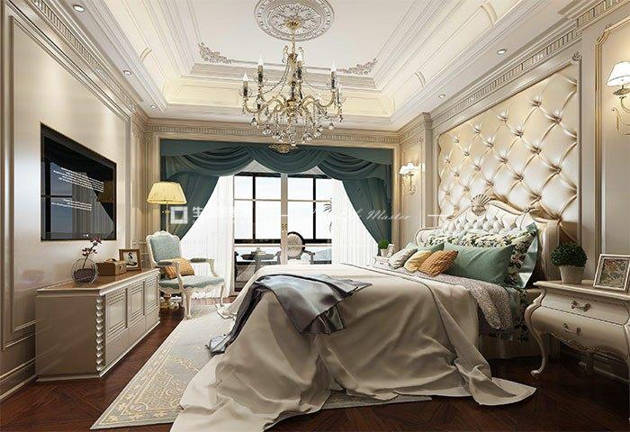 欧式卧室装修效果图