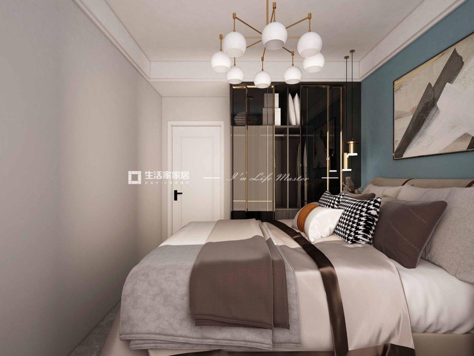 现代卧室装修效果图