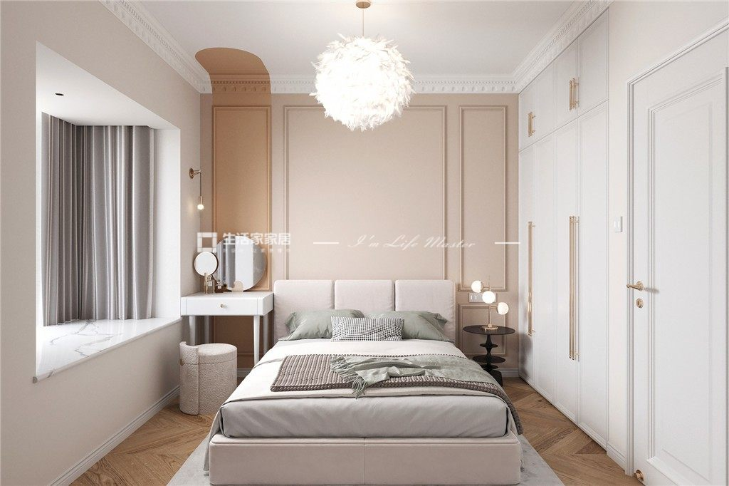 法式臥室裝修效果圖