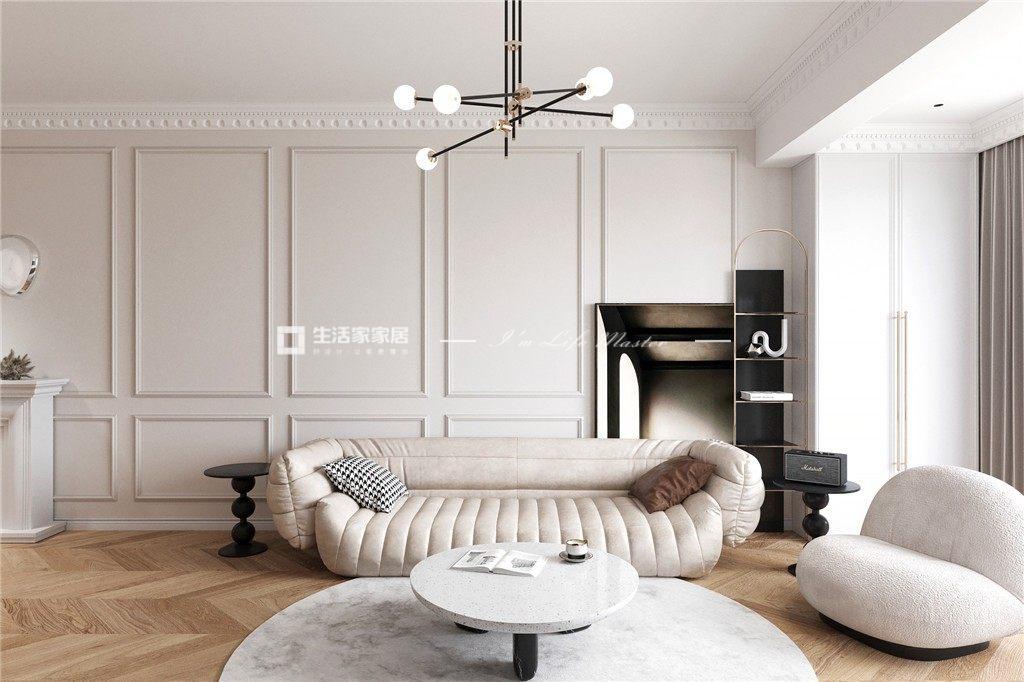 法式客廳裝修效果圖