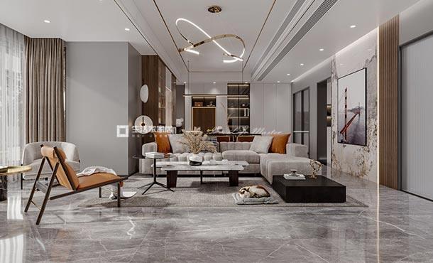 凯德世纪名邸143㎡现代轻奢风格案例