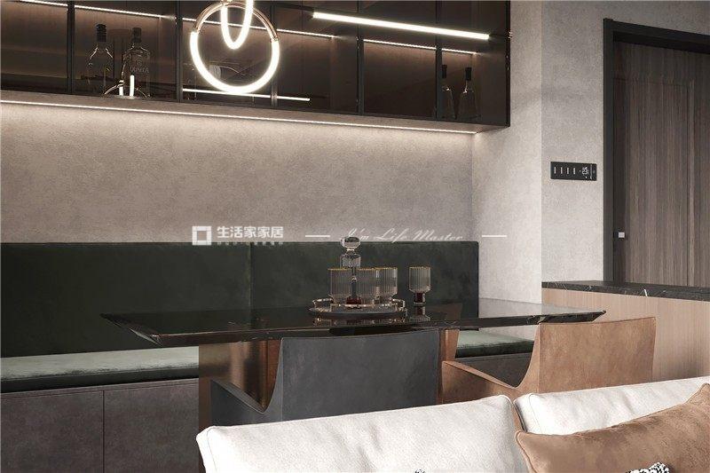 現代餐廳裝修效果圖